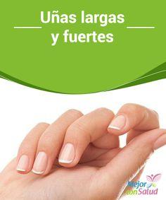 Uñas largas y fuertes  Nuestra presencia importa mucho y cada vez más, por eso es muy importante cuidar nuestras manos y mantener unas uñas largas y fuertes.