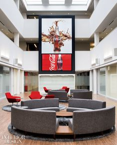 Coca Cola Canadian HQ How Sweet It Is - 51e440b19ac51-idx130701_wtf304.jpg - 2013-07-15 18:34:25 UTC,commerical office ideas, office design