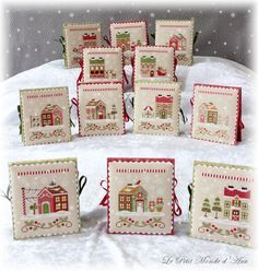 Country Cottage Needleworks - Santa's village