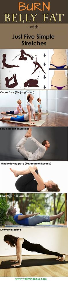 Nobody likes to have a big belly, but it is very easy to get, especially if you don't have time or money to exercise in a gym. But with these 5 yoga asanas, which you can practice daily, you will reduce belly fat really fast.