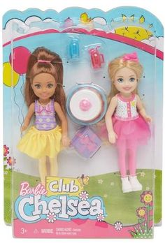 Barbie Club Chelsea LITTLE SISTER DOLL FASHION /& ACCESSORY PACK Dance Class 2019