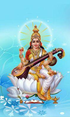Shiva Parvati Images, Durga Images, Shiva Hindu, Shiva Shakti, Hindu Deities, Lakshmi Images, Hindu Art, Saraswati Mata, Saraswati Goddess