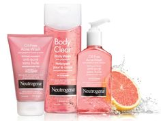 neutragena pink grapefruit. the makeup towlettes are life changing.
