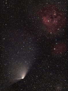 The comet Pan-STARRS, via National Geographic
