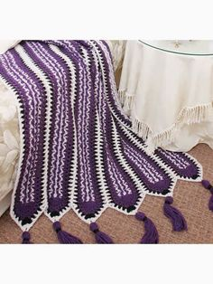 Free Crochenit Southwest Mile-a-Minute Afghan Pattern