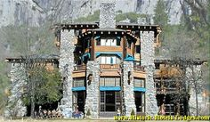 The Ahwahnee Hotel - Yosemite National Park. Maybe we'll spend Christmas at The Ahwanhee someday.... For the past eighty years, the hotel has hosted a 17th-centruy Old English Bracebridge Dinner. So cool!