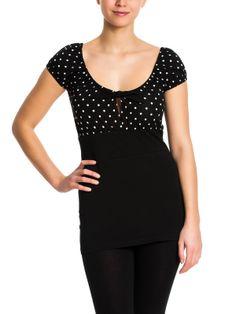 Dolly Dotties Shirt black - NAPO Shop - der offizielle Nastrovje Potsdam Shop
