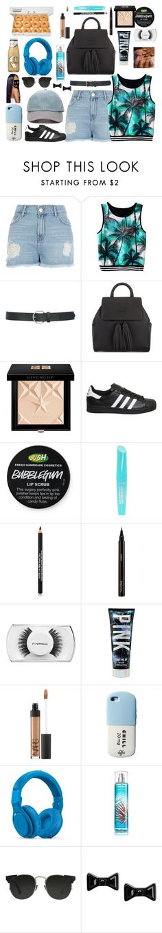 """""""Special Breakfast W/ My Special Guest"""" by cissylion ❤ liked on Polyvore featuring River Island, M&Co, Tory Burch, Givenchy, adidas, claire's, Estée Lauder, Hourglass Cosmetics, MAC Cosmetics and NARS Cosmetics"""