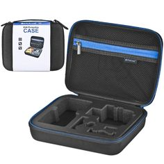 [$6.88] [US Stock] PULUZ Waterproof Carrying and Travel Case for GoPro HERO4 Session /4 /3+ /3 /2 /1, Puluz U6000 and Accessories, Medium Size: 23cm x 17cm x 7cm