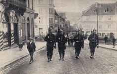 Prussian soldiers patrolling in the streets of Saverne (Zabern)  The military reacted to the protests with arbitrary acts. These infringements led to a debate in the Reichstag about the militaristic structures of German society, as well as the position of the leadership of the Empire in relationship to Kaiser Wilhelm II. The affair not only put a strain on the relationship between the state of Al/Lo and the Ger. Emp. but also led to a  loss of prestige of the Kaiser.