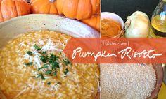 Pumpkin Risotto recipe: Gluten free. And yummy.