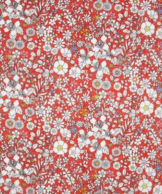 June's Meadow B Portsea Place Voile, Liberty Art Fabrics.