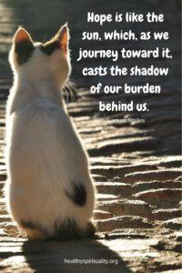 Advent Themes – HOPE! http://healthyspirituality.org/advent-hope/