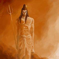 Shiva Mahesvara by ~mmmmmr on deviantART Mahakal Shiva, Shiva Art, Hindu Art, Krishna Art, Tai Chi, Photos Of Lord Shiva, Lord Mahadev, Lord Shiva Family, Lord Shiva Painting