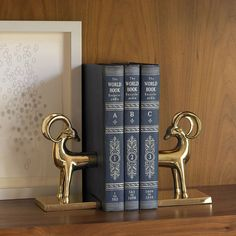 DwellStudio Gazelle Bookends Set of 2 @Zinc_Door