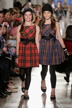 2014 fall children fashion | ... plaid looks at Ralph Lauren teenage girlswear for fall/winter 2014