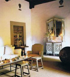 venetian palazzo interiors | Axel Vervoordt styled the Tuscan palazzo of world-famous