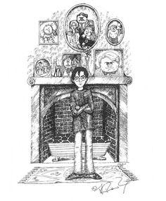 Los bocetos de J. K. Rowling para 'Harry Potter' - CINEMANÍA
