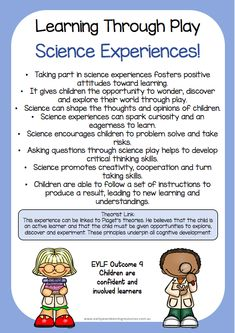 All eylf resources :: science week 2018 - an eylf resource primary education, early Science Week, Preschool Science, Preschool Learning, Teaching, Play Based Learning, Learning Through Play, Early Learning, Early Education, Early Childhood Education