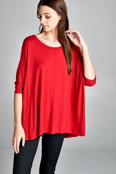 OMG Gotta have this! Boxy, Elbow Lengt... And you can just click here http://www.rkcollections.com/products/t16440?utm_campaign=social_autopilot&utm_source=pin&utm_medium=pin