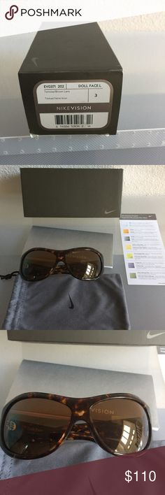 WOMENS NIKE POLARIZED SUNGLASSES NEW NEVER WORN SHADE BOUGHT THEM FOR A GOLF EVENT AND NEVER USED THEM NIKE Accessories Sunglasses