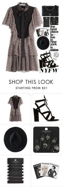 """What to Pack: NYFW"" by aguniaaa ❤ liked on Polyvore featuring Philosophy di Lorenzo Serafini, Dune, Chanel, Ryan Roche, Topshop and Assouline Publishing"