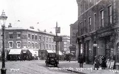 Loughborough Junction, junction of Coldharbour Lane and Hinton Road, Brixton, London 1921