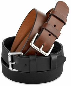 Whether you wear it to the office or a night on the town, you can't go wrong with a versatile belt with this much style. | Leather | Imported | Polo Ralph Lauren men's leather belt | Belt sizes run sm