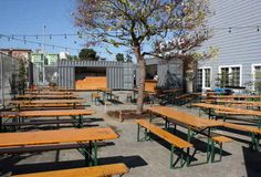 shipping container taqueria and beer garden - Pesquisa Google