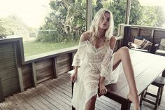 Strangeness and Charms: FASHION: ZIMMERMANN summer swim collection 16.