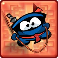 Rope Ninja - Many apk Baby Hat Knitting Pattern, Knitting Patterns, Self Watering Containers, Fifa Football, Mobile Game, News Games, Baby Hats, Ninja, Sonic The Hedgehog