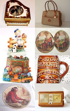 """SWEET MUSIC"" by DaysGoneByTreasures --Pinned with TreasuryPin.com"