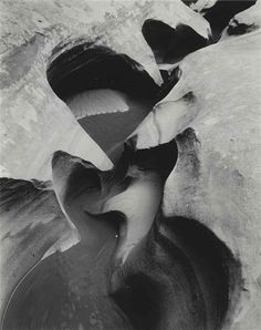 Edward Weston - Stream Channel, Glen Canyon, 1960