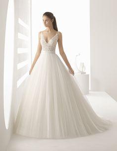 Vestido de noiva rodado para realizar o sonho de princesa