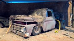 Chevy C10 wrecked gastanker