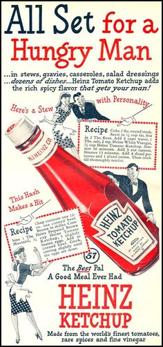 HEINZ KETCHUP WOMAN'S DAY 10/01/1946 p. 79