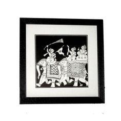 Black and White Wedding Box  - FOLKBRIDGE.COM   Buy Gifts. Indian Handicrafts. Home Decorations.