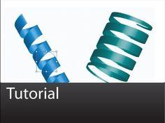 Illustrator: 3D Ribbons - Tutorial - YouTube