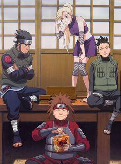 Team Asuma - Naruto
