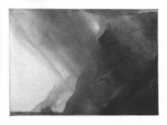 A Line in the Water Norman Ackroyd, Printed Matter, Abstract Landscape, Abstract Art, Gravure, Textile Prints, White Art, Art Studios, Les Oeuvres