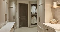 From laundry storage ideas to furniture, the designer rethinks chore time with her luxury utility room Deep Shelves, Room Shelves, Small Utility Room, Laundry Room Inspiration, Laundry Room Design, Laundry Rooms, Room Interior Design, Interior Doors, Laundry Storage