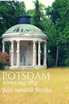 Have you ever been to Potsdam, Germany? Is just outside Berlin and unfortunatelly people usually go there for a day trip. But you should spend in Potsdam much more time - stay there for a weekend or maybe a whole week. Read more on my travel blog (article in Polish - use translator)