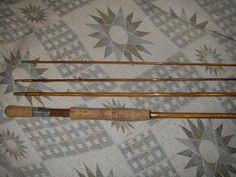 Gene Edwards # 75 De Luxe, 9ft. 6in. 3p #7-8 line 2013,8,3-Bamboo Fly Rod