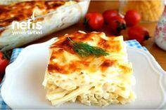 Fırın Makarna (Bol soslu videolu tarif) - Nefis Yemek Tarifleri Macaroni And Cheese, Cooking, Ethnic Recipes, Food, Kitchen, Mac And Cheese, Essen, Meals, Yemek