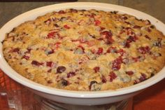 """From """"Cranberry Walnut Pie"""" story by Hayley on Storify — http://storify.com/Hayley14/cranberry-walnut-pie"""
