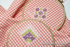 How To Embroider on Gingham – Chicken Scratch Tutorial