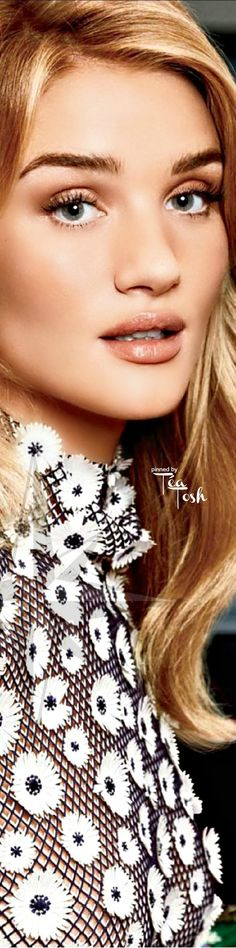 ❇Téa Tosh❇ Rosie Huntington-Whiteley by Txema Yeste