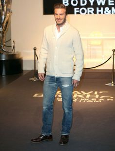 David Beckham Fashion Style. If I could marry David's fashion, lawd heavens know I totally would.