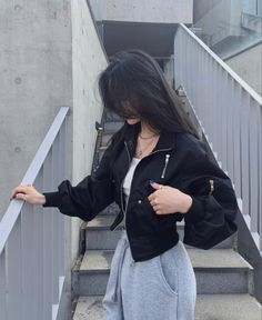 Edgy Outfits, Teen Fashion Outfits, Swag Outfits, Cute Casual Outfits, Pretty Outfits, Korean Outfit Street Styles, Korean Outfits, Korean Girl Fashion, Look Fashion