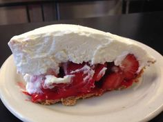 STRAWN'S EAT SHOP -- SHREVEPORT, LOUISIANA.  Who says you have to go to New Orleans for good food? In Shreveport, Strawn's is serving up one of the best-tasting strawberry pies in the nation loaded with whipped cream. They also serve breakfast food essentials like strawberry waffles with a ton of maple syrup.